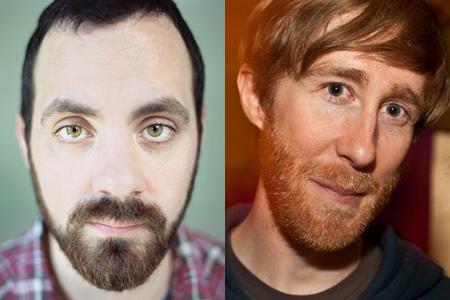 Ben Fowlie (left) and Sean Flynn