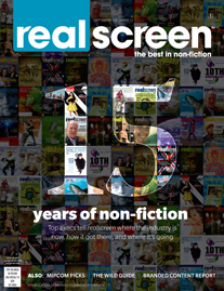 Realscreen magazine - September/October 2012