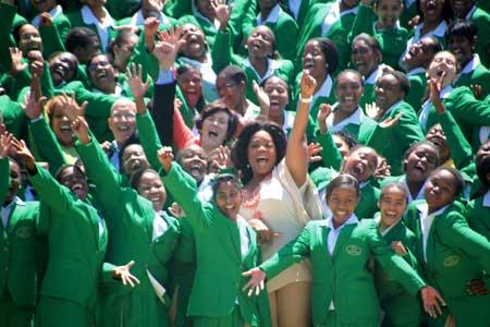 The First Graduating Class: Oprah Winfrey Leadership Academy for Girls