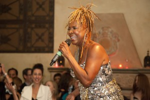 """Thelma Houston at the TIFF launch party for """"The Secret Disco Revolution"""". Photo by David Spowart © 2012"""