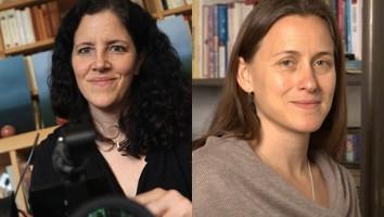 Laura Poitras (left) and Natalia Almada. Photo: MacArthur Foundation