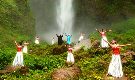 The Act of Killing waterfall