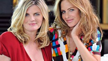 Trinny Woodall (right) and Susannah Constantine