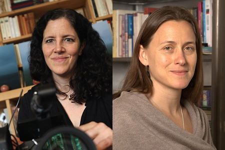 Laura Poitras (left) and Natalia Almada. Photo: MacArthur Foundation