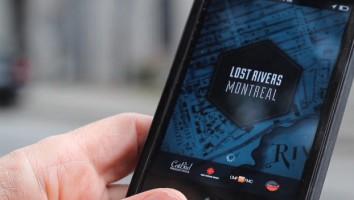 Lost Rivers app