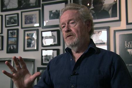 "Sir Ridley Scott in ""Bergman's Video"""