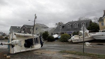 Damage caused by Hurricane Sandy. Image courtesy of Borough of Manasquan