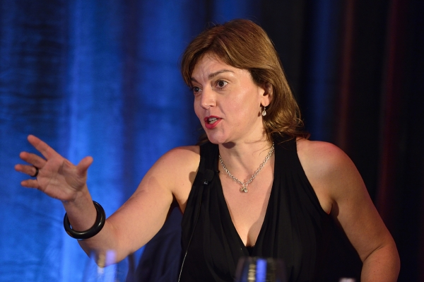 Jane Millichip at Realscreen West 2012. Photograph: Rahoul Ghose