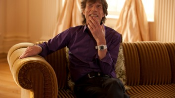 "Mick Jagger in ""Muscle Shoals"""