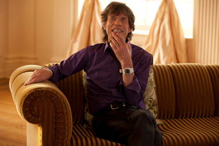 """Mick Jagger in """"Muscle Shoals"""""""