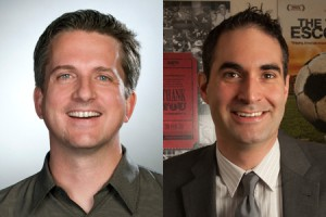 bill simmons (left) and connor schell