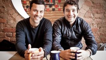 Dimitri Doganis (left) and Bart Layton