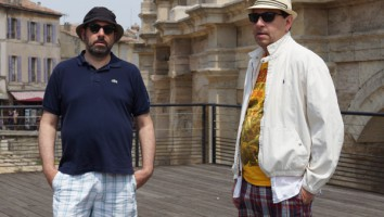 Josh Braun (left) and Dan Braun (right). Photo by David Koh