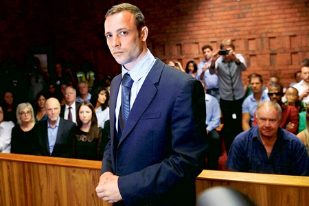 "A publicity still from ""Oscar Pistorius: What Really Happened?"""