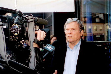 DA Pennebaker interviewed by CityTV in 2000