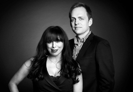 Transparent Television's Jazz Gowans and Richard Hughes