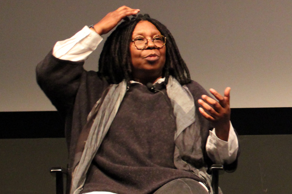 Whoopi Goldberg at Tribeca Film Festival 2013 in New York. Photo by Adam Benzine