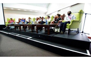 Wild Talk Africa commissioners panel