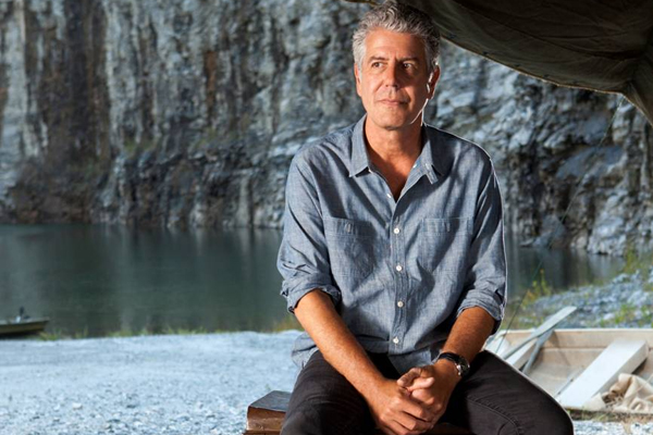 Anthony Bourdain. Photo: CNN