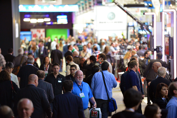 Delegates at NAB 2013 in Las Vegas