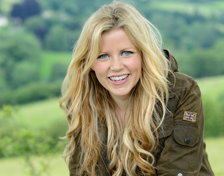 Ellie Harrison, host of Britain's Big Wildlife Revival