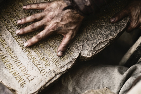 "History mini-series ""The Bible"""