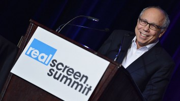Robert DeBitetto at the 2013 Realscreen Summit