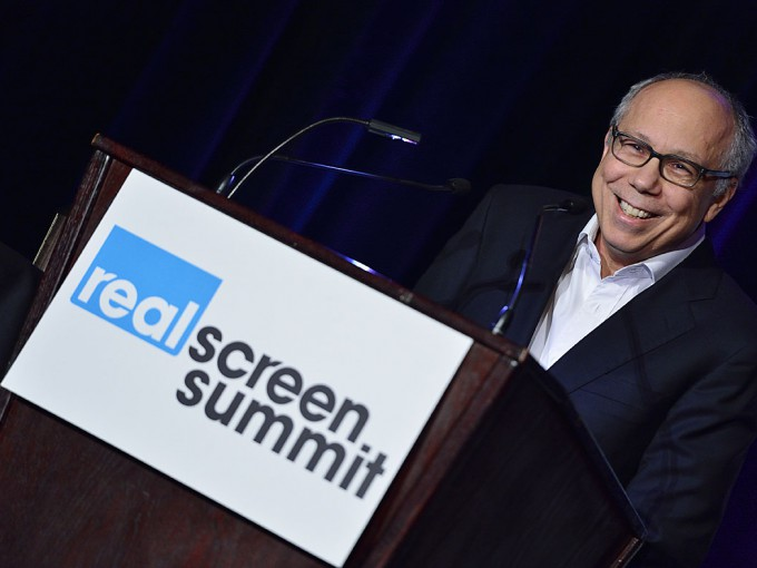 Robert DeBitetto at the 2013 Realscreen Summit