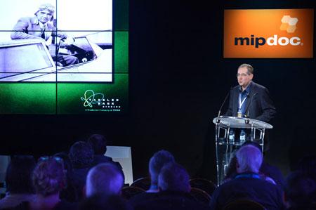 Michael Rosenfeld keynote (Credit : © D'HALLOY / IMAGE & CO)
