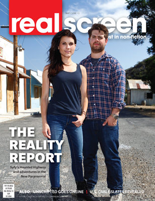 Realscreen magazine May/June 2013