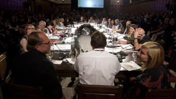 The 2013 Hot Docs Forum. Photo courtesy of David Spowart/Hot Docs