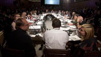The 2013 Hot Docs Forum. Photo courtesy of David Spowart/Hot Docs