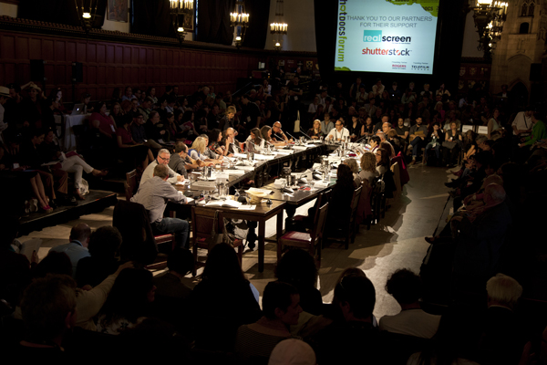 The 2013 Hot Docs Forum in Toronto. Photo courtesy of David Spowart/Hot Docs
