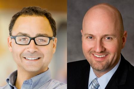 Steve Lerner (left) and Freddy James