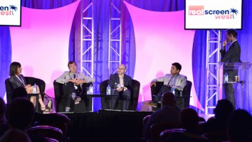 The 'Amping Up Unscipted' panel session at Realscreen West 2013. Photo: Rahoul Ghose
