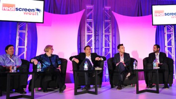 The 'Sizzle or Fizzle' panel at Realscreen West 2013. Photo: Rahoul Ghose