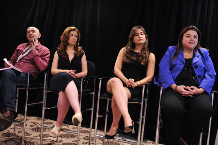 The 'Connecting With the U.S. Hispanic Audience' panel at Realscreen West 2013. Photo: Rahoul Ghose