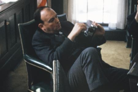"john ehrlichman in a still from ""our nixon"""