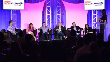 The 'Relationship Counseling' panel session at Realscreen West 2013. Photo: Rahoul Ghose