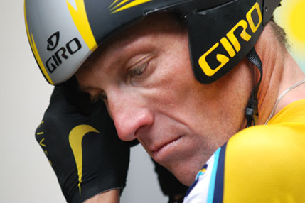 Lance Armstrong. (Picture: Jigsaw Productions)