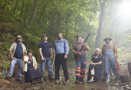 Hatfields and McCoys: White Lightning (Photo by Matthieu Young)