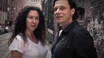 Allison Berg (left) and Frank Keraudren
