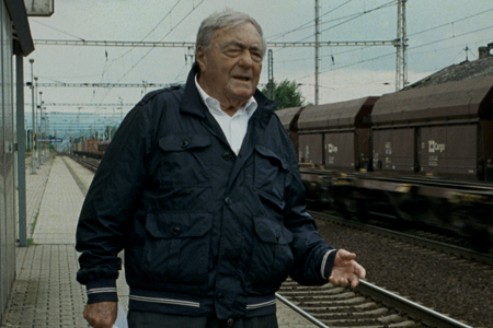 "Claude Lanzmann in ""The Last of the Unjust"""
