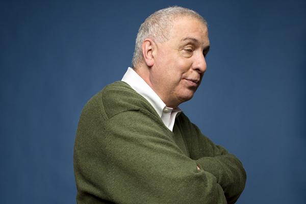Errol Morris. Photo by Mike McGregor © used with permission