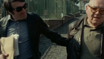 "Claude Lanzmann and Benjamin Murmelstein in ""The Last of the Unjust"""