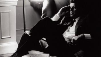 President John F Kennedy (JFK). Photo courtesy of Douglas Jones, LOOK Magazine Photograph Collection, Library of Congress