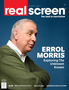 realscreen magazine - september/october 2013
