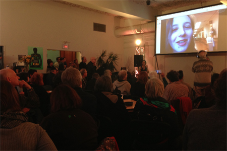 Skype Q&A with Peter Wintonick's daughter at RIDM