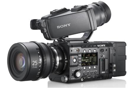 Sony F5 F55 Side Angle