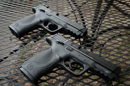 Tim and Susan have Matching Handguns